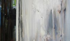 Николай Романов. Белая дверь. Х.м.100х80. 2001