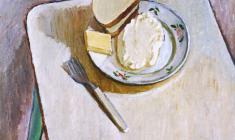 Геворк Котьянц. Завтрак. Х.м.,46,5х54. 1976