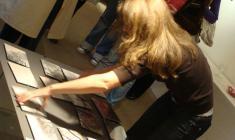 На открытии выставки Егора Ларина
