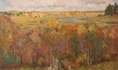 Невельштейн С. Осень в окрестностях Академической дачи. 1946