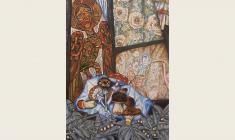 Олег Гуренков. Божелесье. Х.м.,200x125. 2003. Фрагмент