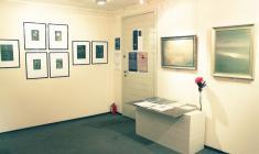 """""""Аккорды тишины"""". Фрагмент экспозиции в галерее """"АРКА"""". 2011"""