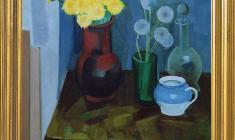 Сергей Осипов (1915-1985). Одуванчики. Х.м., 70 x 60. 1985. Цена по запросу. Osipov Sergey. Dandelions. Oil on canvas. Price on request