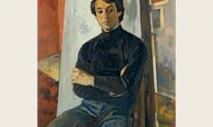 Ю. Хухров. Сергей. Х.м., 95х80. 1981