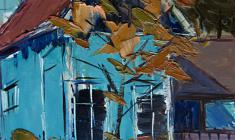 Арсений Семёнов. Дом во Пскове. Карт.м.,40,4х33,1. 1962
