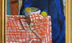 Геворк Котьянц (1906-1996). Натюрморт. Х.м., 50 x 56.1970. Цена по запросу. Gevork Kotiantz. Still-life. Oil on canvas. Price on request.  克瓦洛克 卡金茨