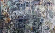 Концерт для скрипки с Петербургом.70х65.2002.Фр.2